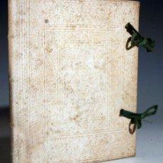Libros antiguos: FEUDIS GERMINIAE GENTILITIIS – AÑO 1740. Lote 43646344