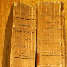 Libros antiguos: HISTORIA DEL CONSULADO Y CASA DE CONTRATACIÓN DE BILBAO Y DEL COMERCIO DE LA VILLA TOMOS 1 Y 2 1913. Lote 44003937