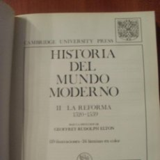 Libros antiguos: HISTORIA DEL MUNDO MODERNO, TOMO II, LA REFORMA 1520-1559, SOPENA. Lote 45523771