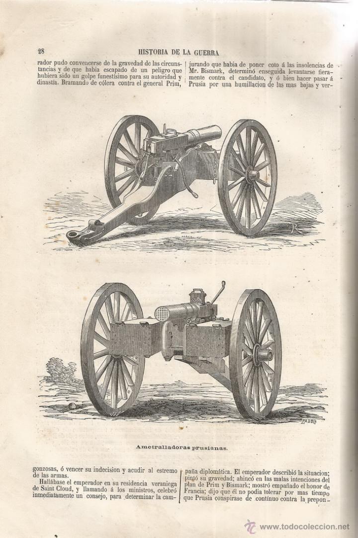 Libros antiguos: D. MANUEL GARCÍA DE LUNA. Historia de la Guerra de Francia y Prusia en 1870. Tomo I. RM66682. - Foto 2 - 45637422