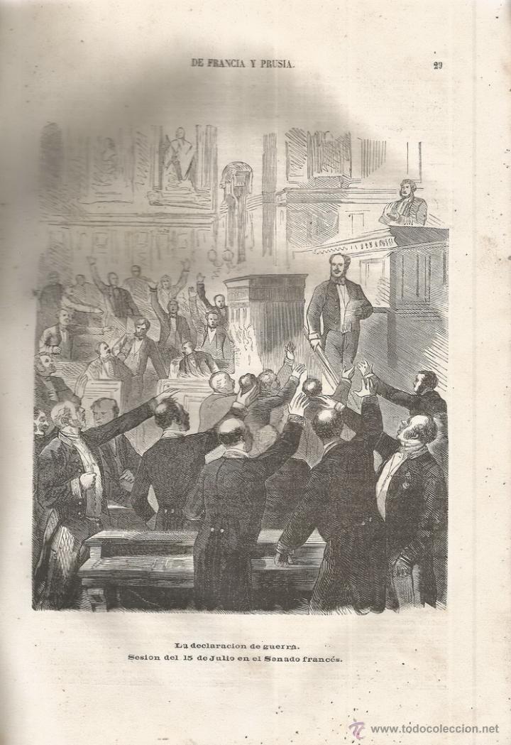Libros antiguos: D. MANUEL GARCÍA DE LUNA. Historia de la Guerra de Francia y Prusia en 1870. Tomo I. RM66682. - Foto 3 - 45637422