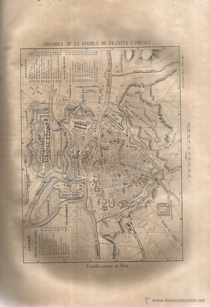 Libros antiguos: D. MANUEL GARCÍA DE LUNA. Historia de la Guerra de Francia y Prusia en 1870. Tomo I. RM66682. - Foto 4 - 45637422