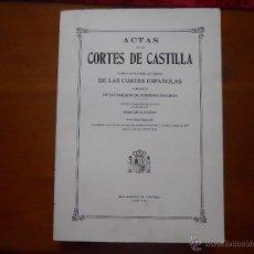 Libros antiguos: ACTAS CORTES DE CASTILLA, TOMO SEXAGESIMO VOLUMEN TERCERO 30-04-1657, 28-06-1658. Lote 45797120