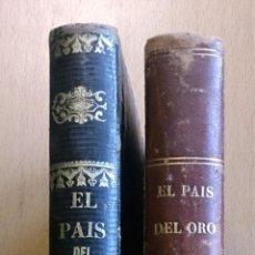 Libros antiguos: EL PAÍS DEL ORO (DESCUBRIMIENTO Y CONQUISTA DEL PERÚ). TOMO 3 Y 4. AÑO 1870. MADRID. VER FOTOS.. Lote 46118673