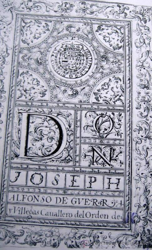 Libros antiguos: HERALDICA Y GENEALOGIA DEL APELLIDO CORNEJO - FACSIMIL - 11 HOJAS - Foto 2 - 159616426