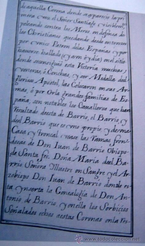 Libros antiguos: HERALDICA Y GENEALOGIA DEL APELLIDO CORNEJO - FACSIMIL - 11 HOJAS - Foto 3 - 159616426