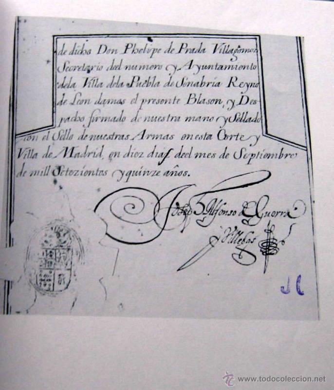 Libros antiguos: HERALDICA Y GENEALOGIA DEL APELLIDO CORNEJO - FACSIMIL - 11 HOJAS - Foto 4 - 159616426