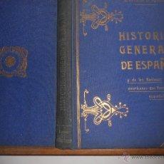 Libros antiguos: HISTORIA GENERAL DE ESPAÑA Y DE LAS NACIONES AMERICANAS QUE FUERON ESPAÑOLAS (VOL 6) BARCELONA. Lote 46986206