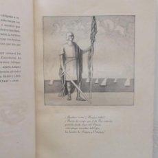 Libros antiguos: LOS ALMOGÁVARES - LUIS C. BOSCH-LABRÚS - 1928. Lote 47153536
