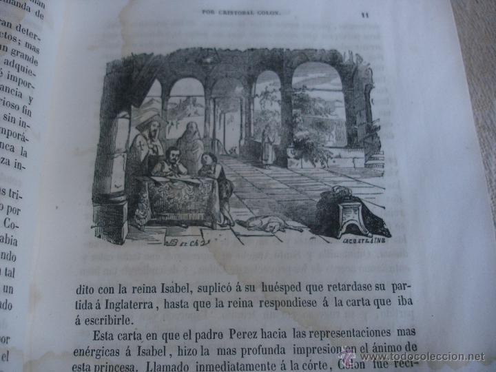 Libros antiguos: Historia del descubrimiento y conquista de América. Campe 1845 - Foto 6 - 47389091