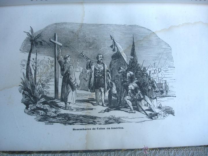 Libros antiguos: Historia del descubrimiento y conquista de América. Campe 1845 - Foto 7 - 47389091