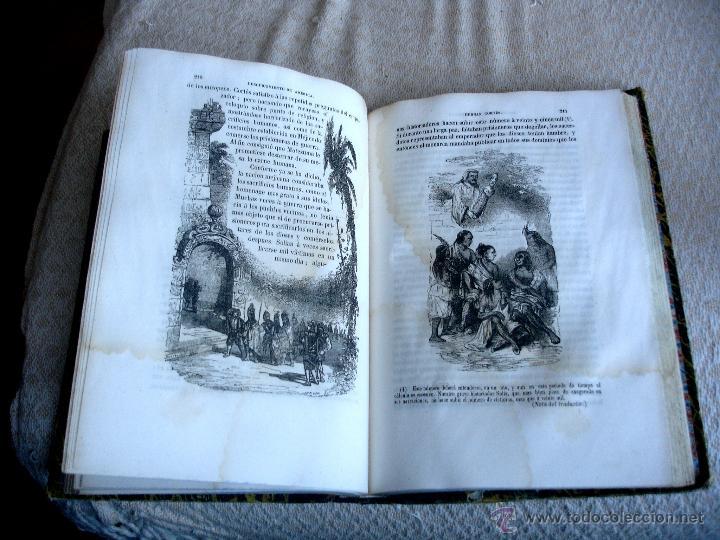 Libros antiguos: Historia del descubrimiento y conquista de América. Campe 1845 - Foto 10 - 47389091