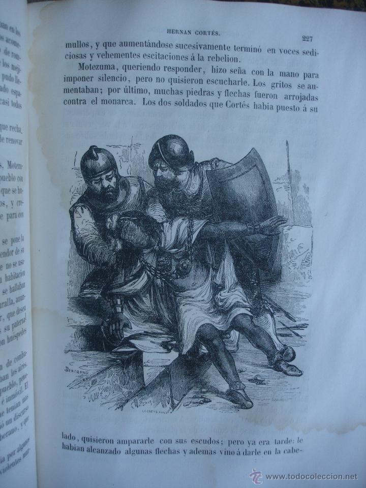 Libros antiguos: Historia del descubrimiento y conquista de América. Campe 1845 - Foto 11 - 47389091