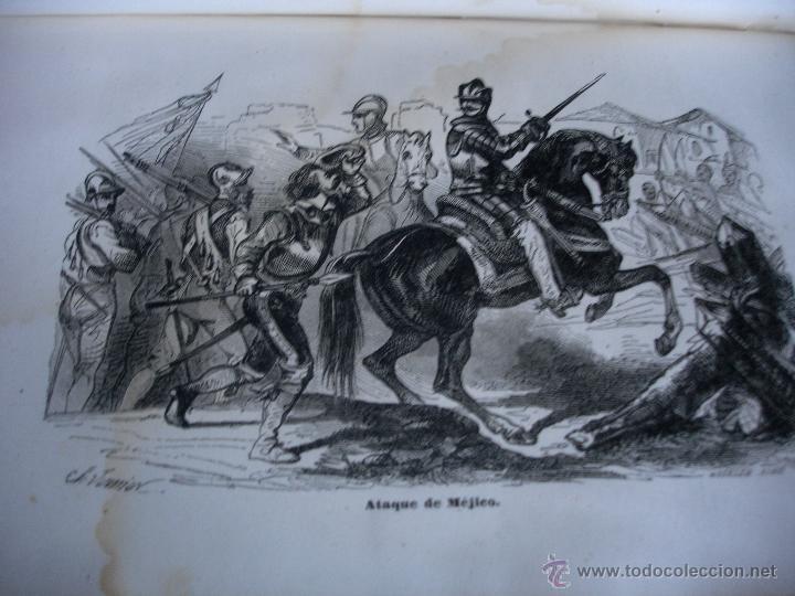 Libros antiguos: Historia del descubrimiento y conquista de América. Campe 1845 - Foto 12 - 47389091