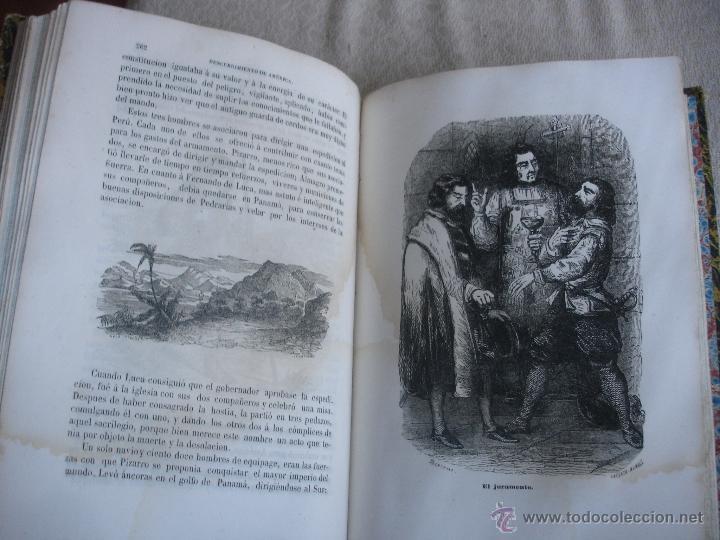 Libros antiguos: Historia del descubrimiento y conquista de América. Campe 1845 - Foto 14 - 47389091