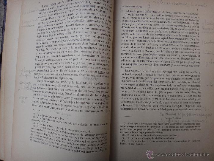 Libros antiguos: LIBRO RUD EL CARTAS , HUICI , ANALES INSTITUTO GENERAL VALENCIA , 1918 , ORIGINAL - Foto 3 - 47409781