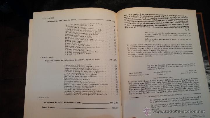 Libros antiguos: Editorial Planeta, LA SEGUNDA GUERRA MUNDIAL, por Haymont Cartier - Foto 17 - 47927267