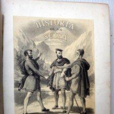 Libros antiguos: LIBRO HISTORIA DE LA REPUBLICA DE SUIZA , 1871 , VICENTE ORTIZ , LITOGRAFIAS , GRANDE , ORIGINAL. Lote 48558415