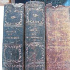 Libros antiguos: HISTORIA DEL REINADO DEL ULTIMO BORBON DE ESPAÑA. 3 TOMOS. FERNANDO GARRIDO. S. MANERO, EDITOR 1868. Lote 48781292