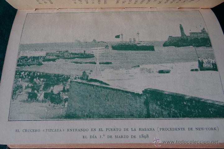 Libros antiguos: LA GUERRA HISPANO AMERICANA. GOMEZ NUÑEZ. 1899. 2 TOMOS EN 1 VOLUMEN. GRABADOS Y MAPAS. - Foto 8 - 49197024