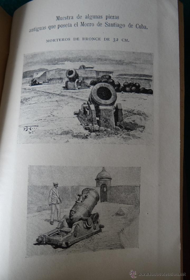 Libros antiguos: LA GUERRA HISPANO AMERICANA. GOMEZ NUÑEZ. 1899. 2 TOMOS EN 1 VOLUMEN. GRABADOS Y MAPAS. - Foto 11 - 49197024