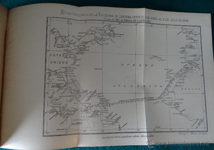 Libros antiguos: LA GUERRA HISPANO AMERICANA. GOMEZ NUÑEZ. 1899. 2 TOMOS EN 1 VOLUMEN. GRABADOS Y MAPAS. - Foto 12 - 49197024