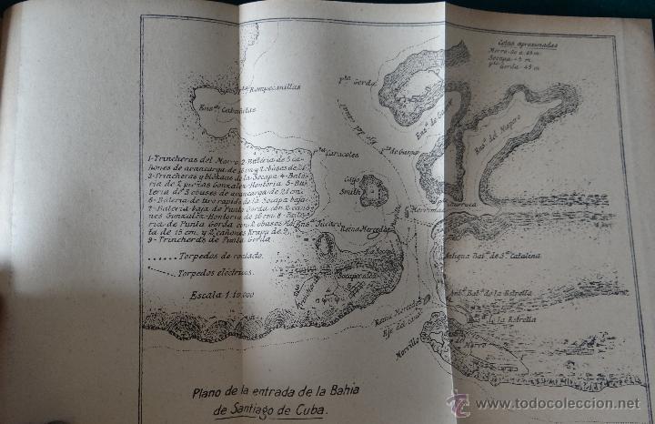 Libros antiguos: LA GUERRA HISPANO AMERICANA. GOMEZ NUÑEZ. 1899. 2 TOMOS EN 1 VOLUMEN. GRABADOS Y MAPAS. - Foto 13 - 49197024