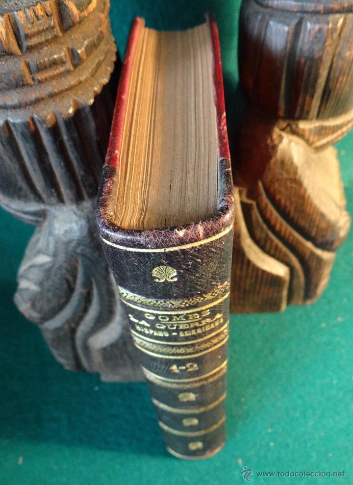 Libros antiguos: LA GUERRA HISPANO AMERICANA. GOMEZ NUÑEZ. 1899. 2 TOMOS EN 1 VOLUMEN. GRABADOS Y MAPAS. - Foto 14 - 49197024