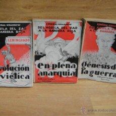 Libros antiguos: DEL AGUILA DEL ZAR A LA BANDERA ROJA - GENERAL KRASNOW - LIBROS INTONSOS. Lote 49710650