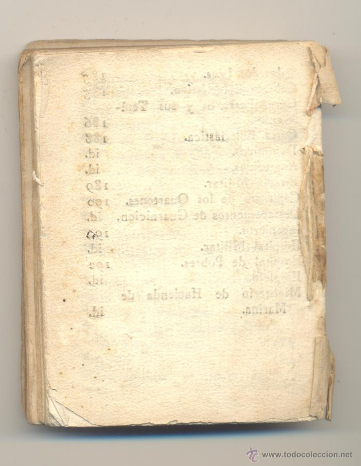 Libros antiguos: CALENDARIO Y GUIA DE FORASTEROS EN LAS ISLAS DE MALLORCA E IVIZA IBIZA PARA1802 - Foto 2 - 49988547