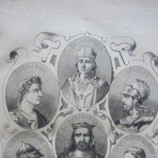 Libros antiguos: ÁLBUM DE HISTORIA UNIVERSAL. MONTANER Y SIMON (1876). GRABADOS Y MAPAS.. Lote 50047400