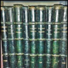 Libros antiguos: LA GUERRA EUROPEA. BARCELONA. 10 VOLÚMENES DE PRINCIPIOS DE SIGLO. 31 CM. ILUSTRADO. MAPAS. FOTOS.. Lote 50314994