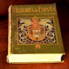 Libros antiguos: HISTORIA DE ESPAÑA Y SU INFLUENCIA EN LA HISTORIA UNIVERSAL. ANTONIO BALLESTEROS. 1914, . Lote 50345840