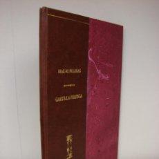 Libros antiguos: CARTILLA POLITICA. PABLO DIAZ DE VILLEGAS. 1899. Lote 50535156