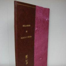 Libros antiguos: REGLAMENTO DE MEDICINA Y CIRUGIA. CUBA, PUERTO-RICO. 1844. Lote 274018243