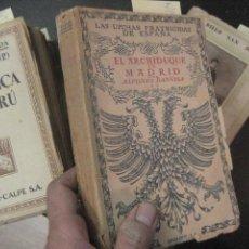 Libros antiguos: EL ARCHIDUQUE EN MADRID, ALFONSO DANVILA. Lote 50967658