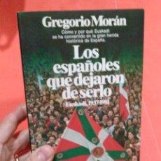 Libros antiguos: LIBRO LOS ESPAÑOLES QUE DEJARON DE SERLO. Lote 107565408