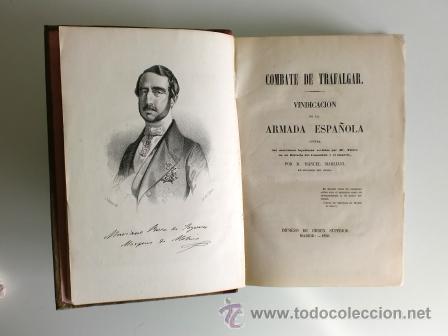 Libros antiguos: COMBATE DE TRAFALGAR. VINDICACIÓN DE LA ARMADA ESPAÑOLA. 1850 - Foto 2 - 52880663