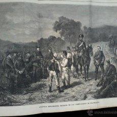 Libros antiguos: FRANCIA Y PRUSIA .CRONICA DE LA GUERRA EN 1870 - JUAN B.MORALES. 1870 - TOMO I - GRABADOS.. Lote 53269302