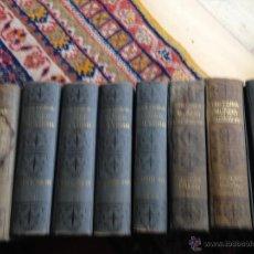 Libros antiguos: HISTORIA DEL MUNDO EN LA EDAD MODERNA.10 VOL. RAMÓN SOPENA 1918. Lote 53671951