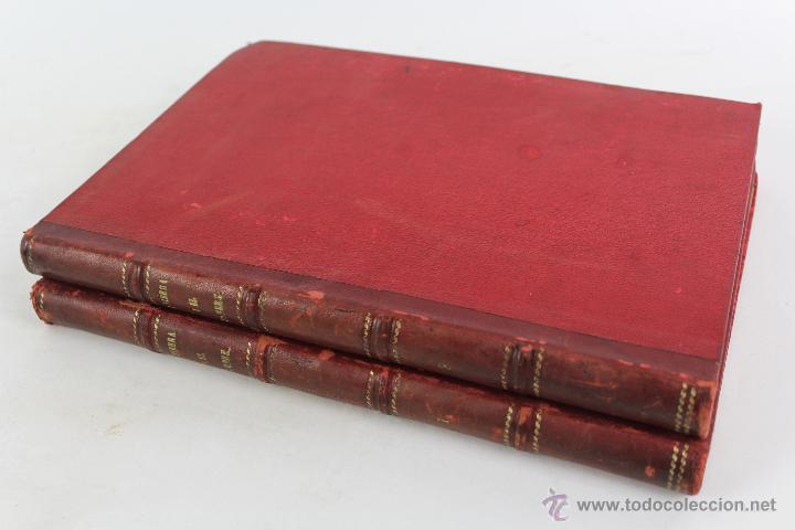 L-3110 LA TIERRA Y EL HOMBRE. 2 TOMOS. ED. MONTANER Y SIMON 1886-87 (Libros antiguos (hasta 1936), raros y curiosos - Historia Moderna)