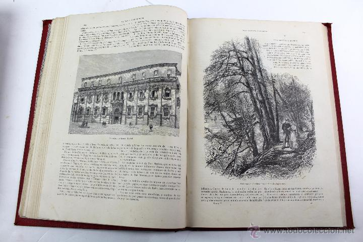 Libros antiguos: L-3110 LA TIERRA Y EL HOMBRE. 2 TOMOS. ED. MONTANER Y SIMON 1886-87 - Foto 4 - 54264056