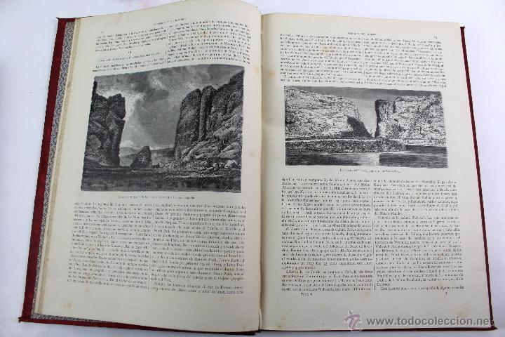 Libros antiguos: L-3110 LA TIERRA Y EL HOMBRE. 2 TOMOS. ED. MONTANER Y SIMON 1886-87 - Foto 7 - 54264056