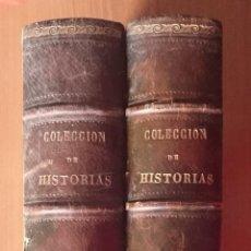 Libros antiguos: NUMULITE L0261 COLECCION DE HISTORIAS Y MEMORIAS CONTEMPORANES CÉSAR CANTU 1868 RUBIO GRILO VITTURI. Lote 54280338