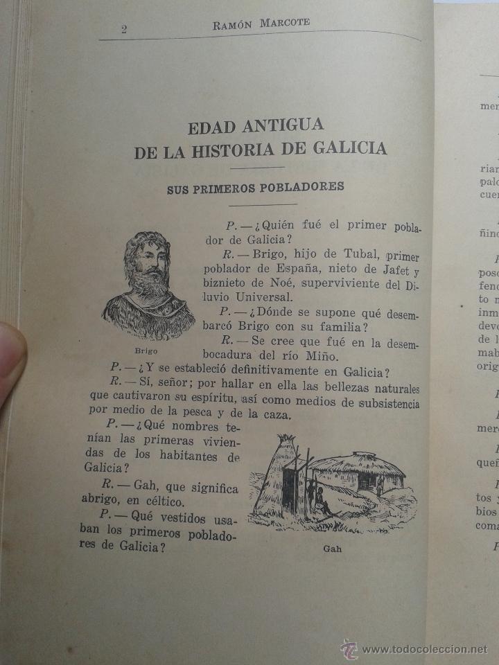 Libros antiguos: Historia de Galicia. Por Ramón Marcote. La Habana. Año 1925. - Foto 2 - 54673681