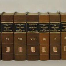Libros antiguos: 5054 - HISTÓRIA DE CATALUNYA. 16 VOLÚMENES.(VER DESCRIP). ANTONI ROVIRA. 1972-1984.. Lote 276989578