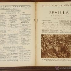 Libros antiguos: 6758 - ENCICLOPEDIA GRÁFICA. 14 EJEM.(VER DESCRIP) VV. AA. EDIT. CERVANTES. 1929-1931.. Lote 50135980
