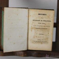 Libros antiguos: 5313- HISTORIA DE LA REVOLUCION DE INGLATERRA. GUIZOT. TIP. MELLADO. 1844.. Lote 45568005