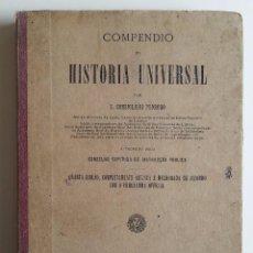 Libros antiguos: AÑO 1895 * LISBOA PORTUGAL * COMPENDIO DE HISTORIA UNIVERSAL * EDICIÓN PORTUGUESA. Lote 55237453