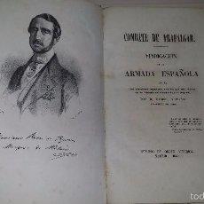 Libros antiguos: COMBATE DE TRAFALGAR. VINDICACIÓN DE LA ARMADA ESPAÑOLA (1850). Lote 56158840